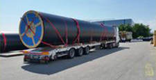 LARGE DIAMETER PE PIPES UP TO OD 2500MM